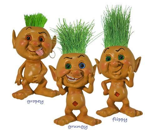 Gropey, Grungy and Flippy...the Baez troll team has dwindled down to these three.