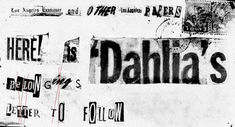 Dahlia Letter